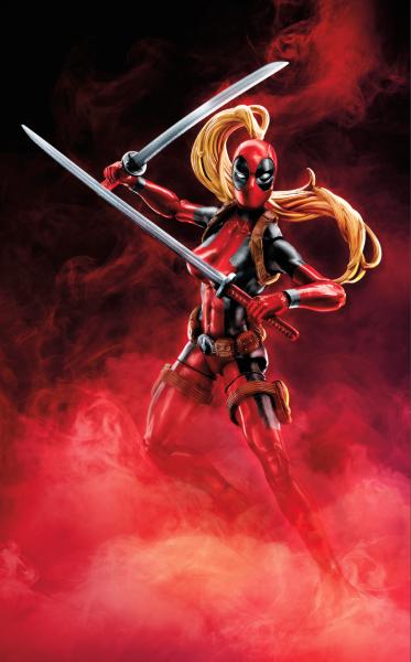 Deadpool 6 Inch Legends W2 - Lady Deadpool