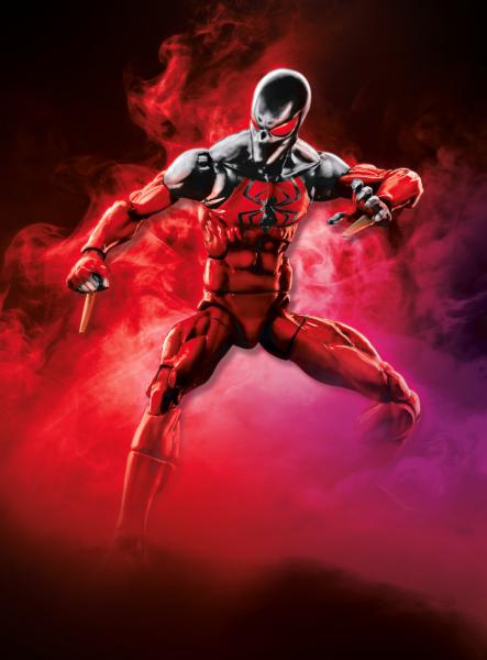 Spider-Man 6 Inch Legends W2 - Scarlet Spider
