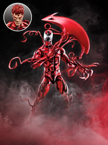 Venom 6 Inch Legends - Carnage (inset)