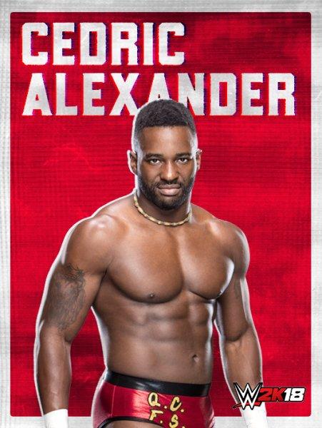 WWE2K18_ROSTER_CEDRIC ALEXANDER