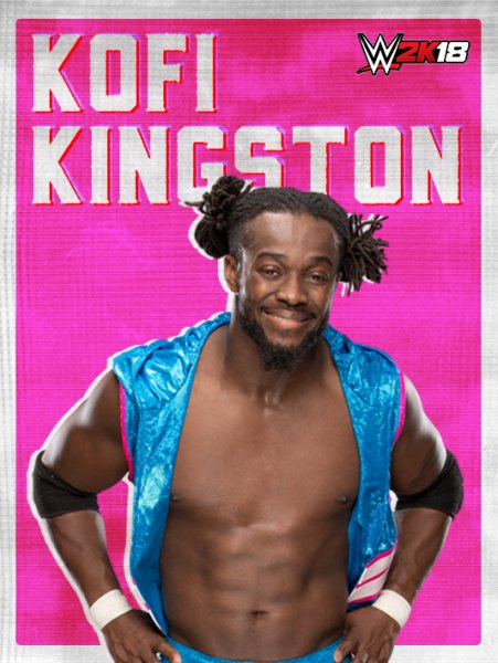 WWE2K18_ROSTER_Kofi Kingston