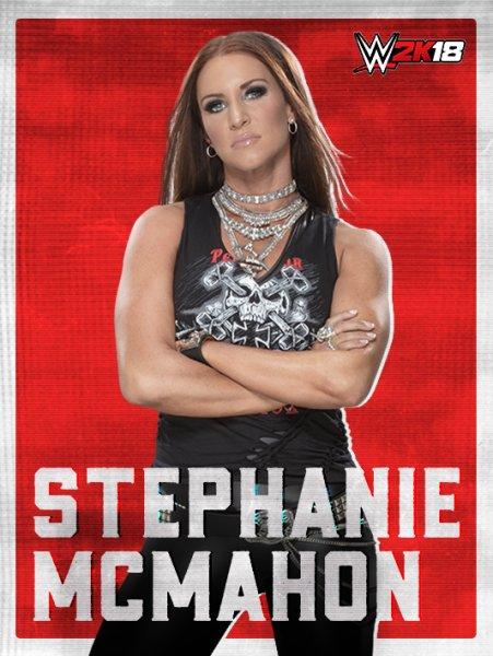 WWE2K18_ROSTER_Stephanie McMahon