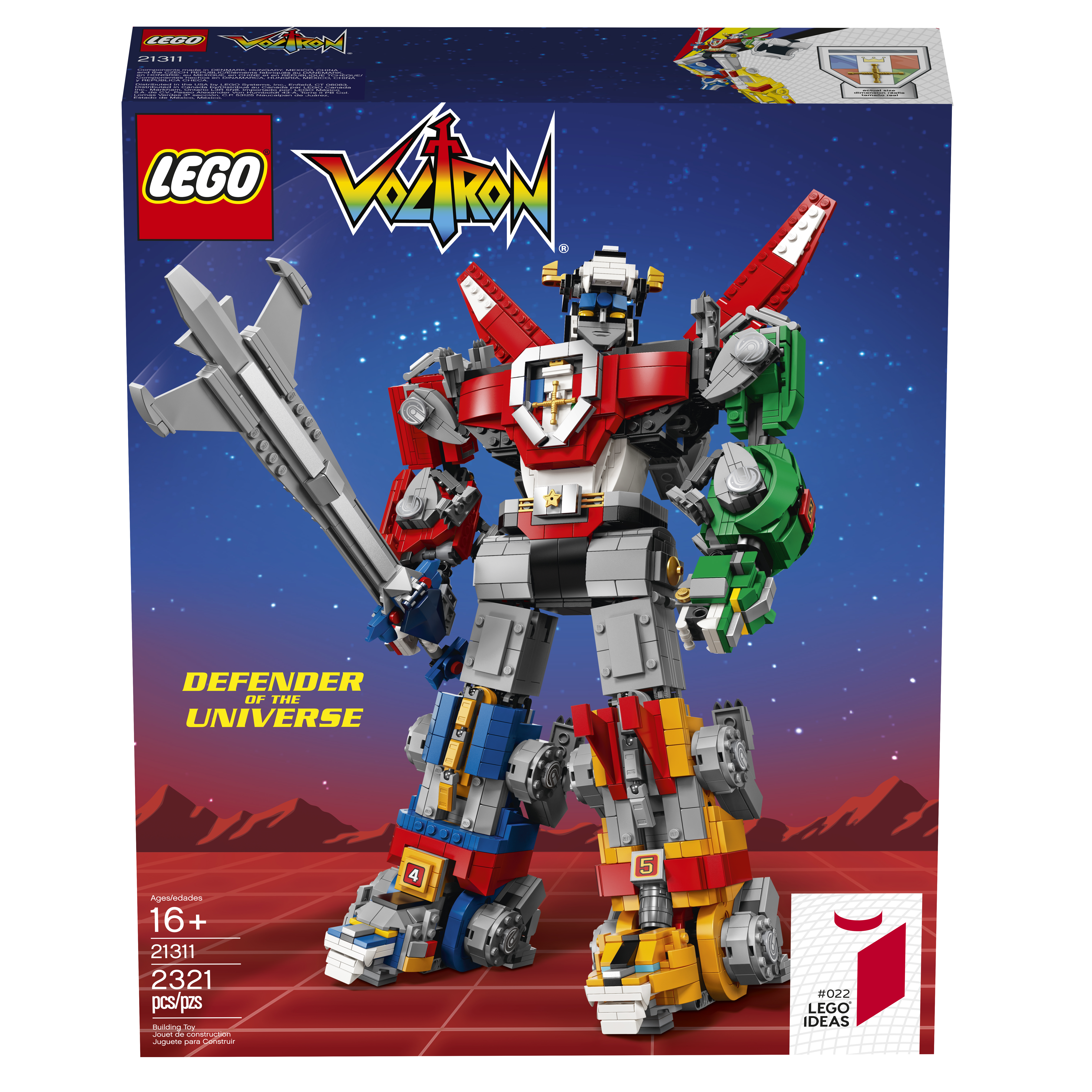 LEGO VOLTRON IS HAPPENING!