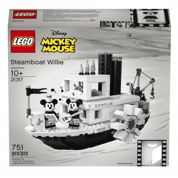 LEGO Announces Steamboat Willie Set