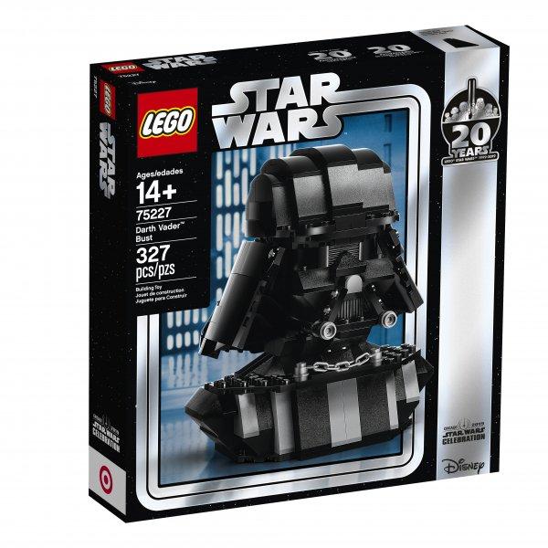 LEGO Announces Celebration Exclusive Darth Vader Bust