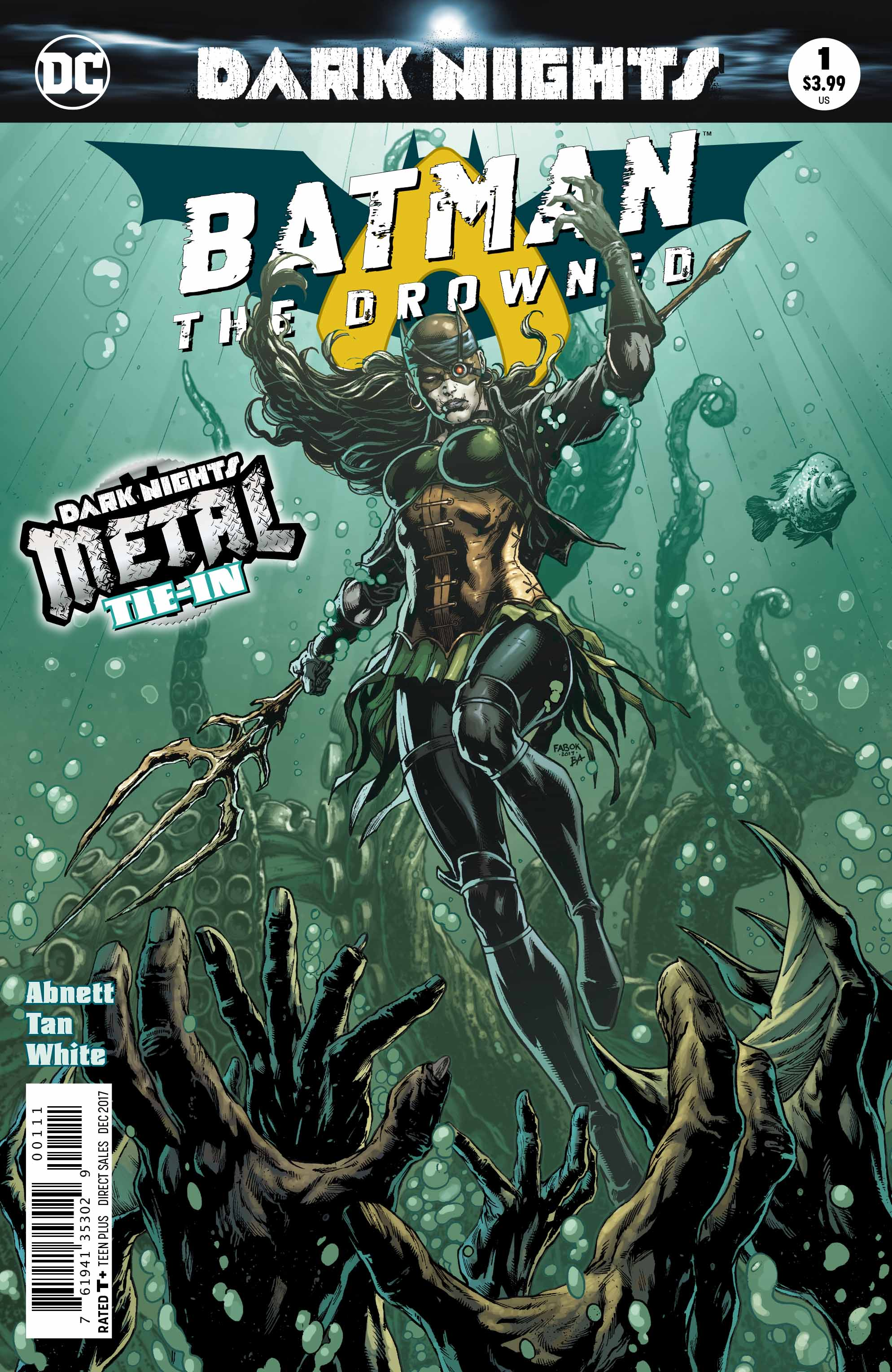 REVIEW: Batman: The Drowned #1 (METAL Tie-In)