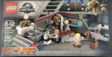 REVIEW: LEGO Jurassic World – Set 75932 – Jurassic Park Velociraptor Chase