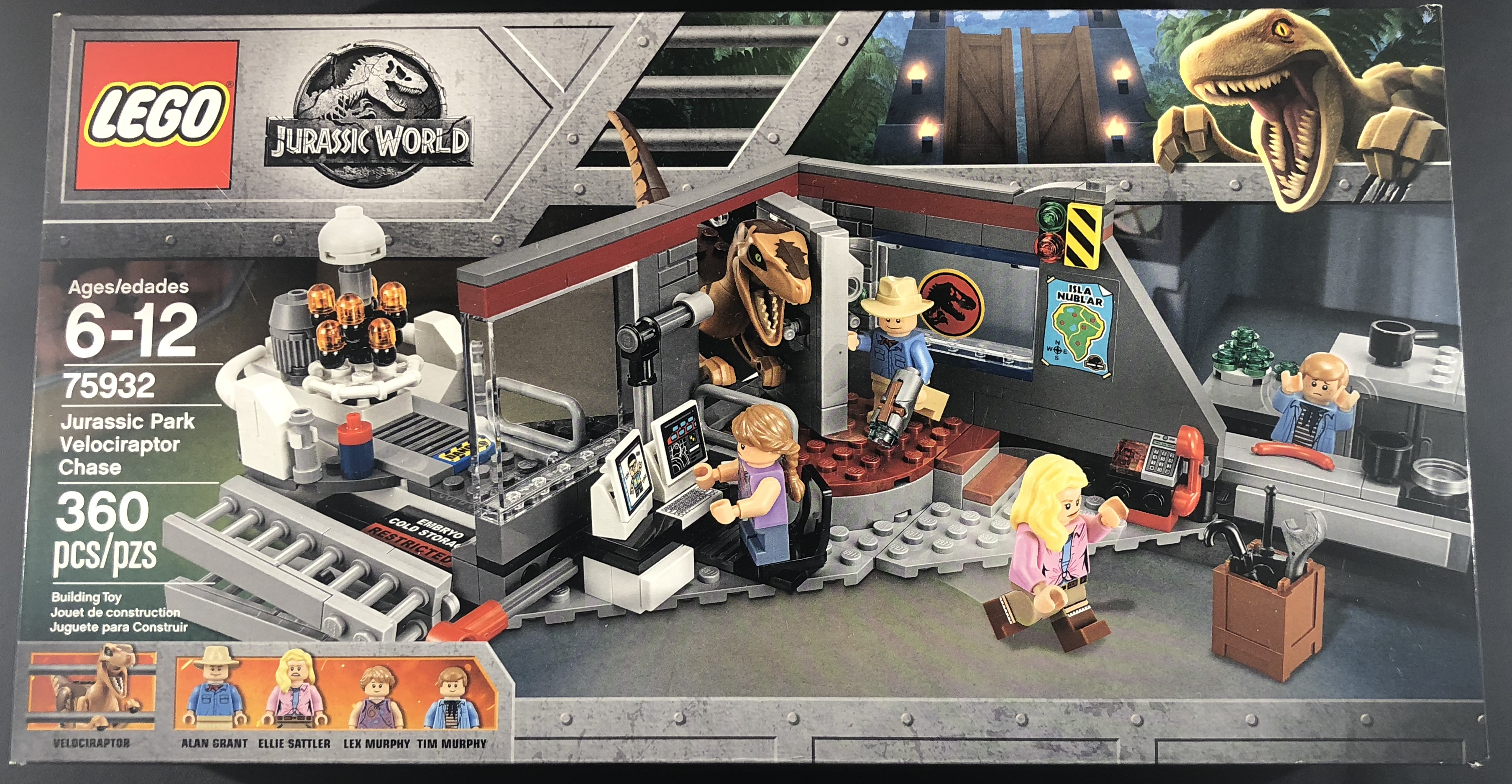 REVIEW: LEGO Jurassic World – Set 75932 – Jurassic Park Velociraptor Chase
