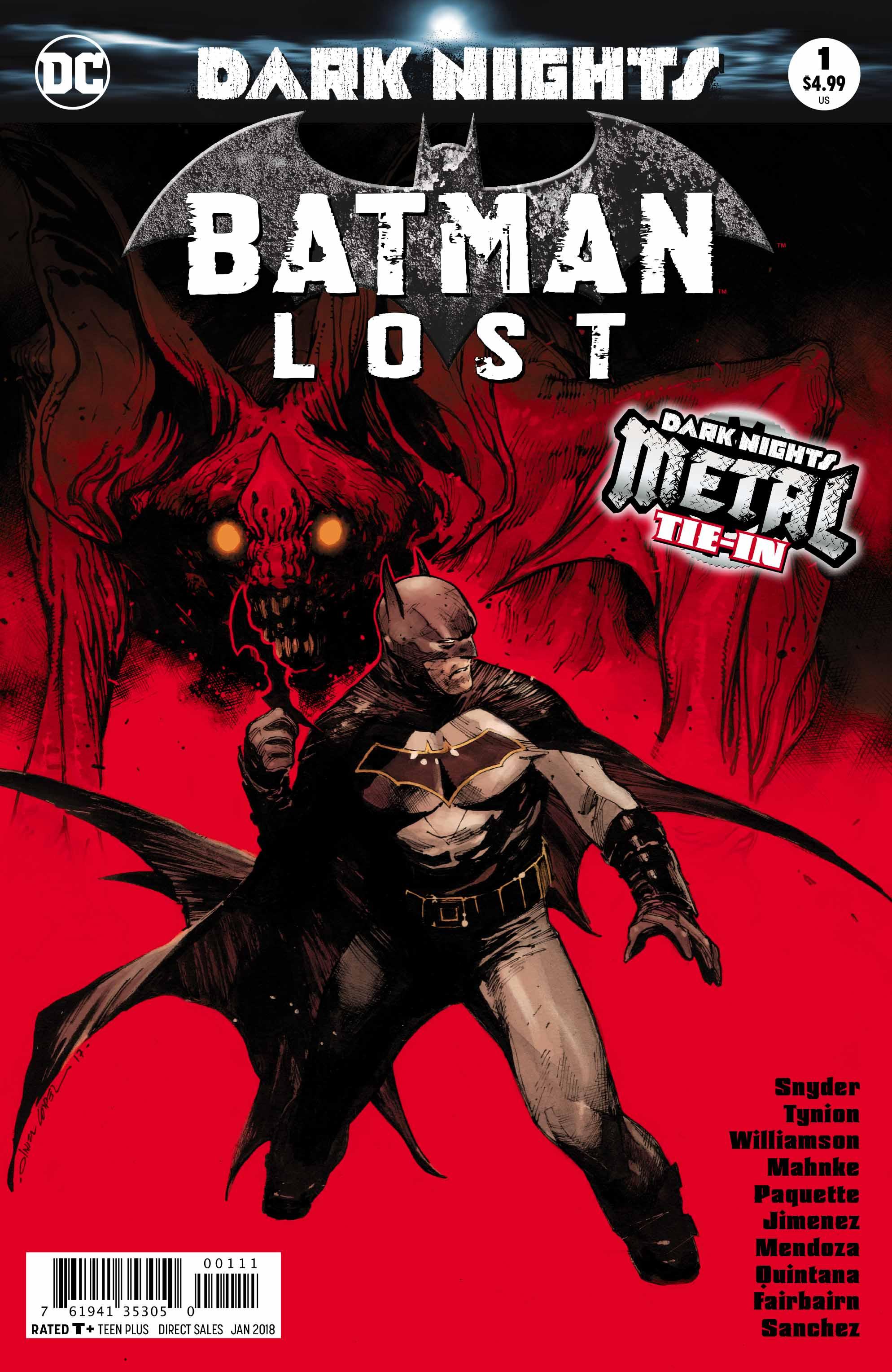 Batman Lost #1 (METAL Tie-In)