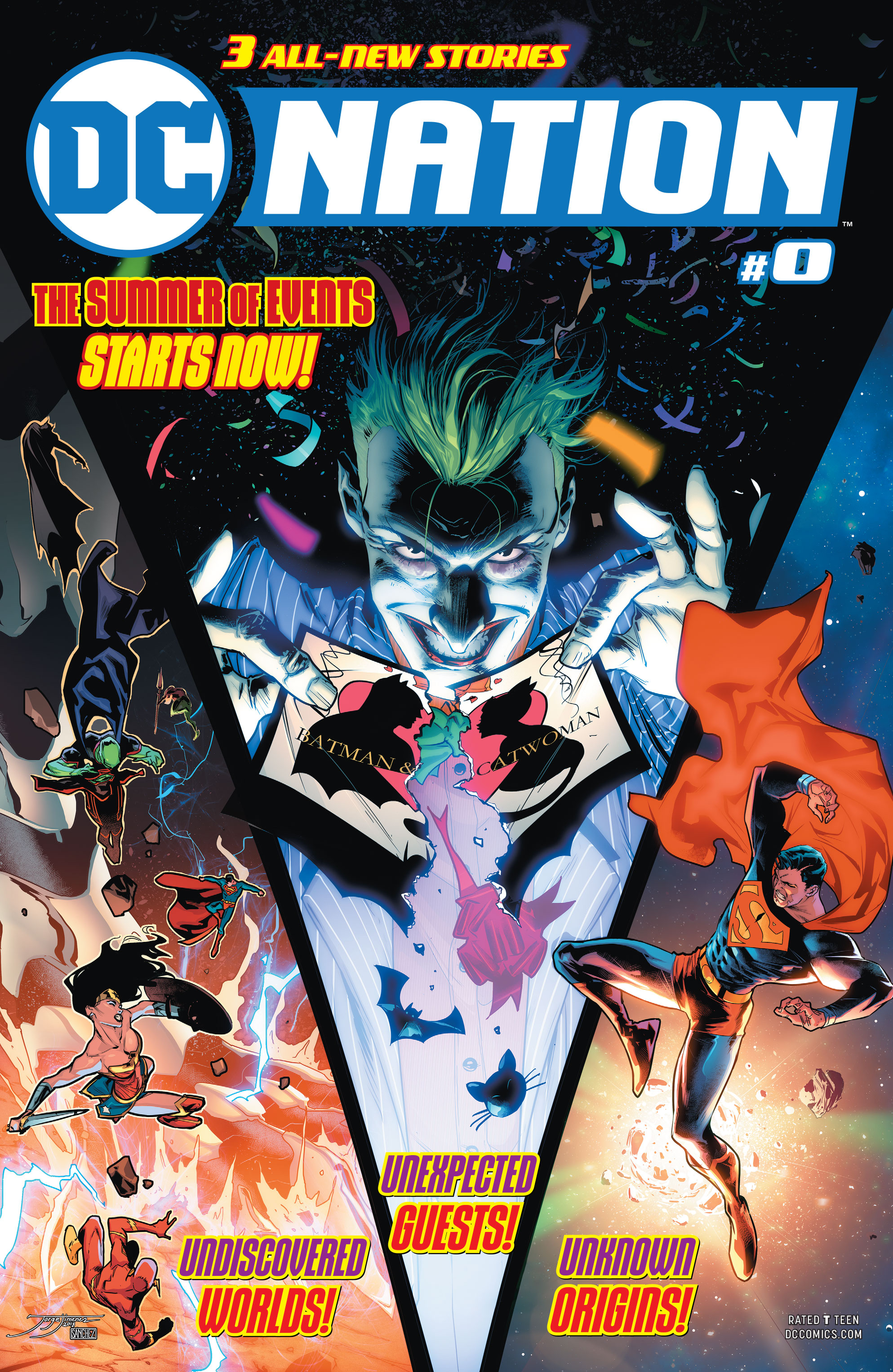 REVIEW: DC Nation #0