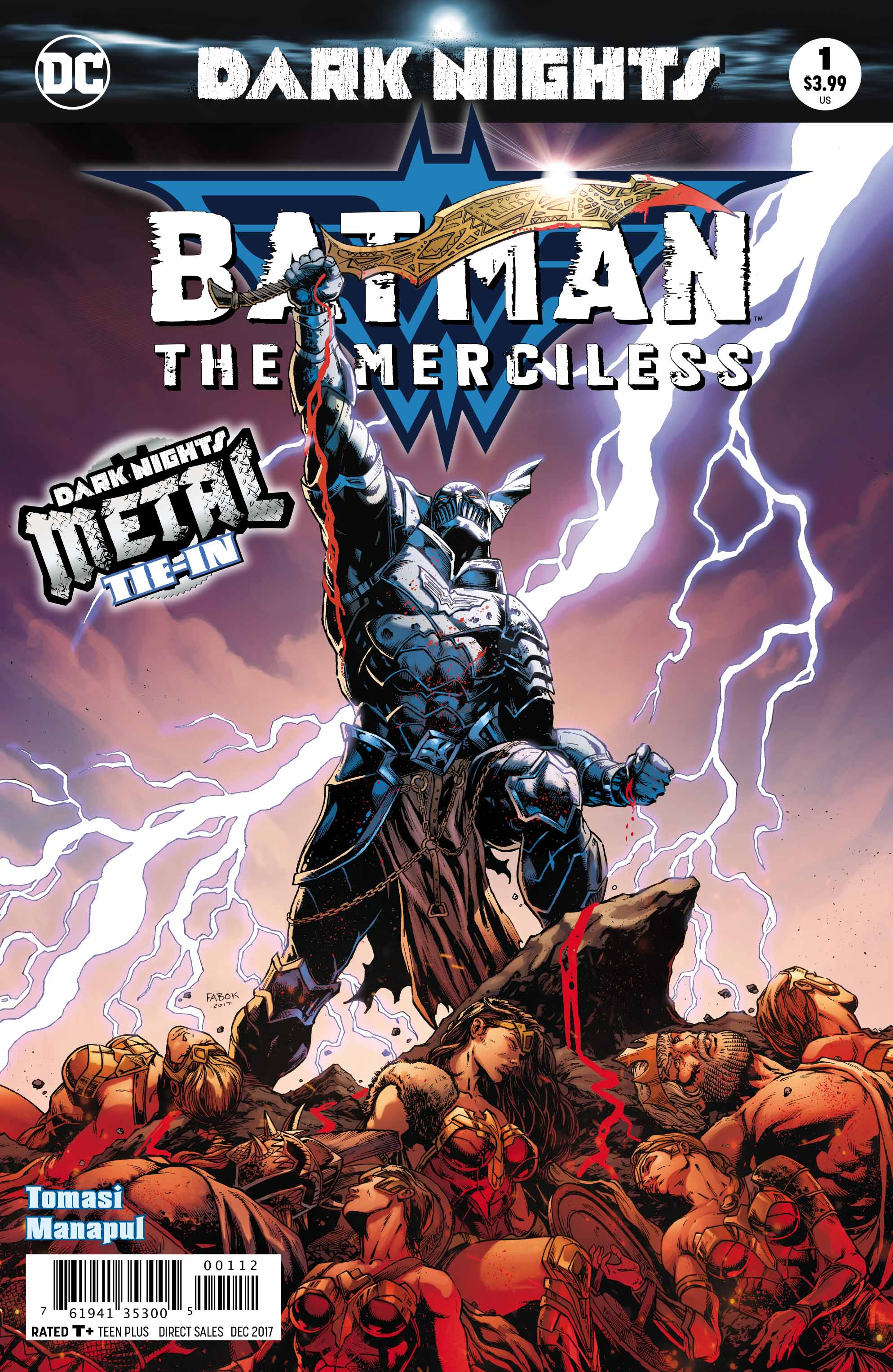 Batman: The Merciless #1 (METAL Tie- In)