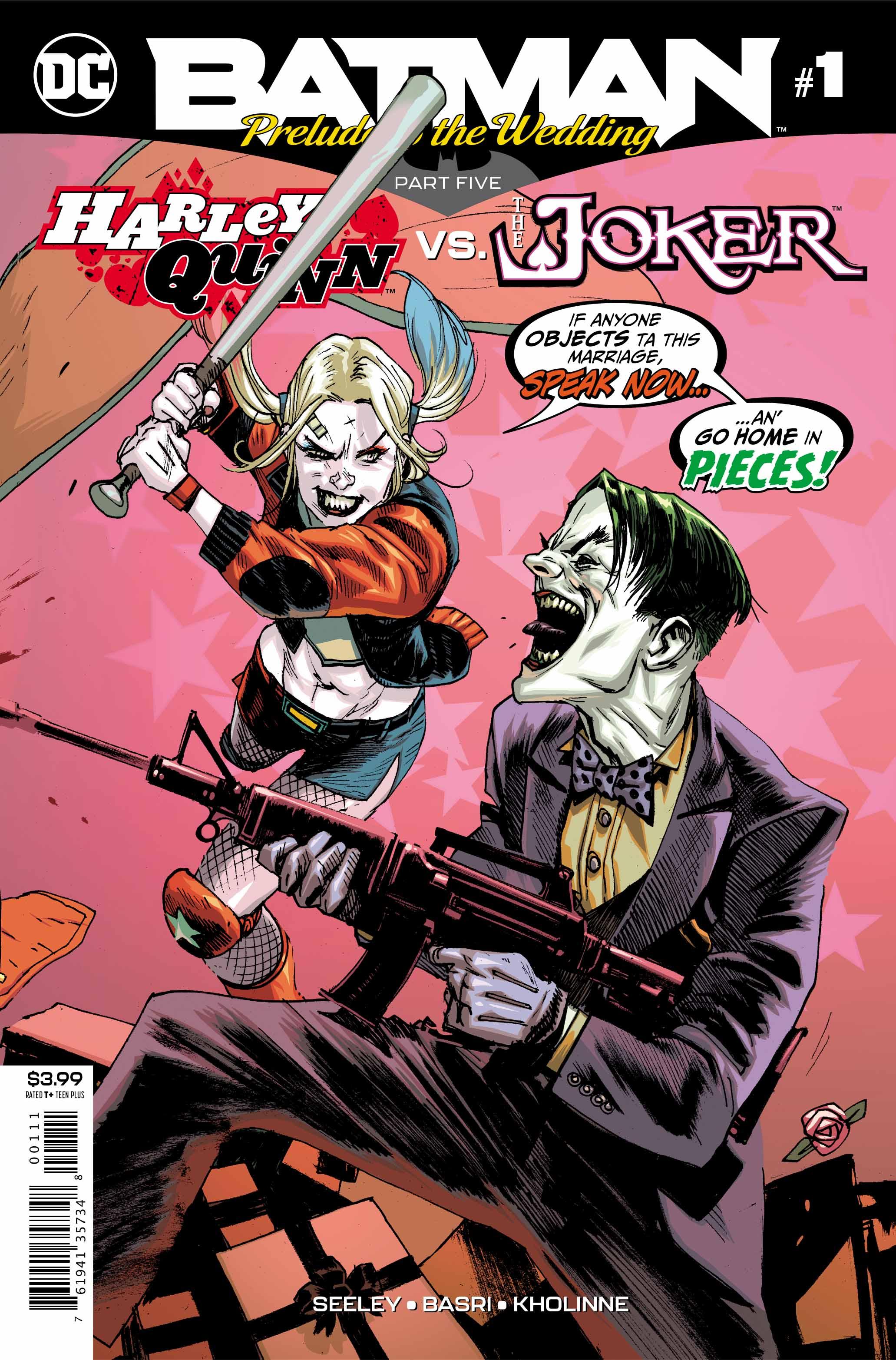 Batman: Prelude to the Wedding – Harley Quinn vs. The Joker #1