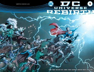 DC Universe, Rebirth - Cover 1