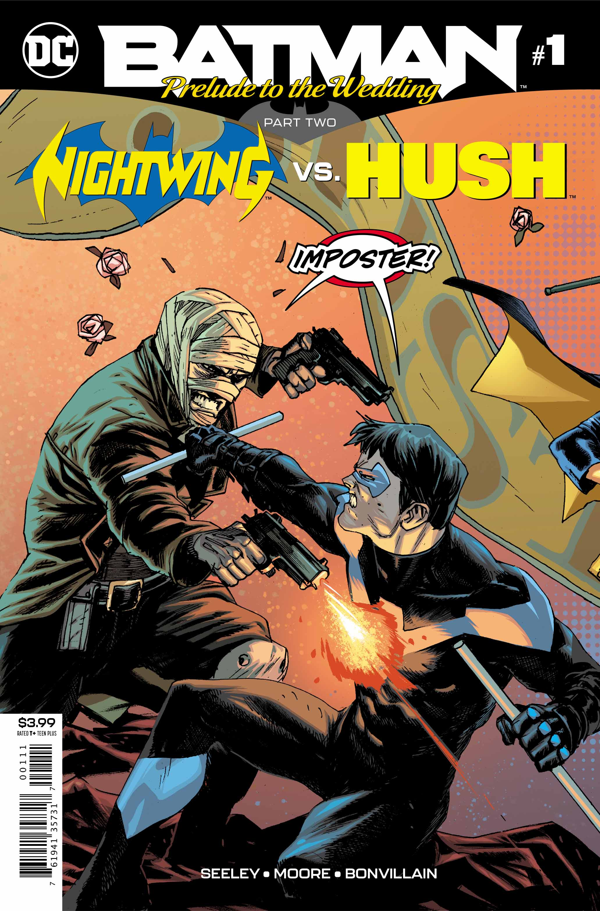 Batman: Prelude to the Wedding – Nightwing vs. Hush #1