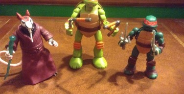 ACTION FIGURES: Guest Review: Teenage Mutant Ninja Turtles Mutations Figures by Playmates