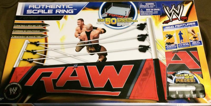 Toys R Us Wwe Rings : Advance review exclusive wwe authentic scale ring by