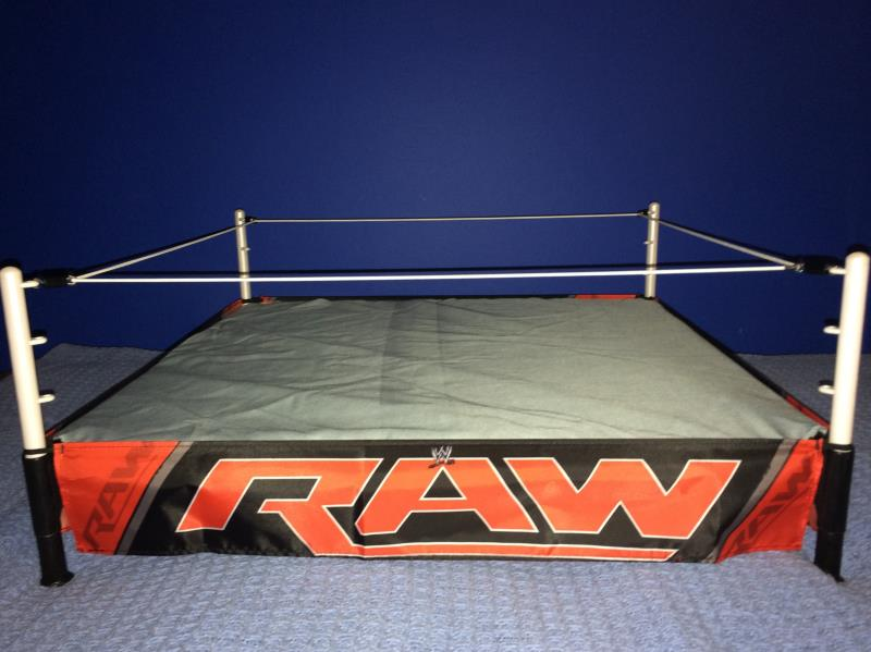 Advance Review Exclusive Wwe Authentic Scale Ring By