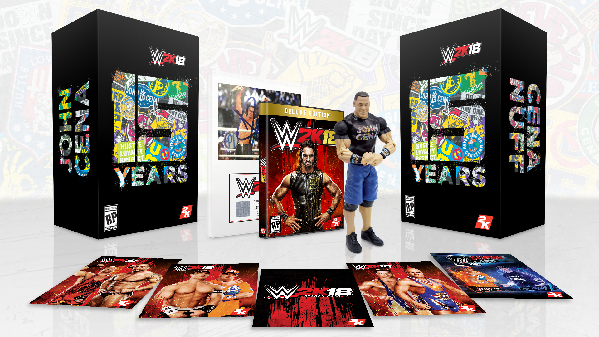 WWE2K18 Collector's Edition Details Revealed