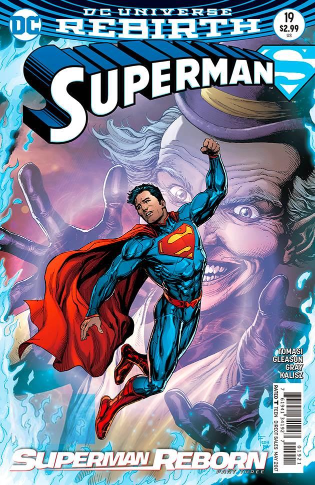 Superman 18, Action Comics 975, Superman 19 (2016)