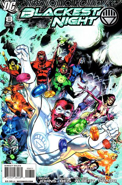 Comic Review: Blackest Night #8
