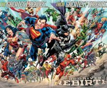 DC UNIVERSE: REBIRTH TURNS ONE YEAR OLD!