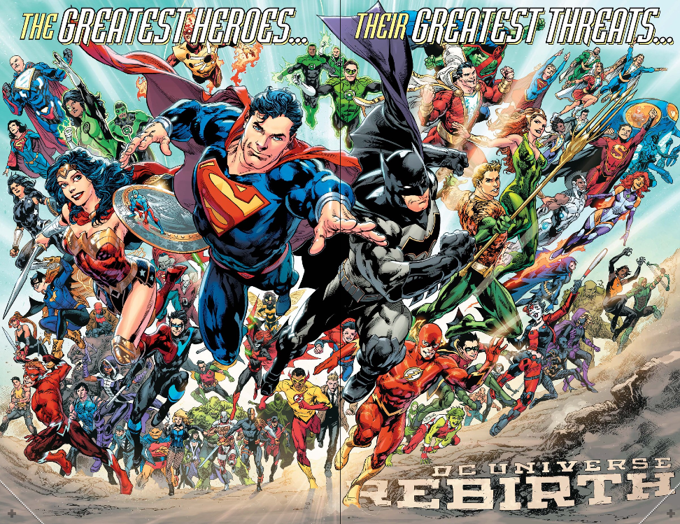 DC Rebirth: One Year Later