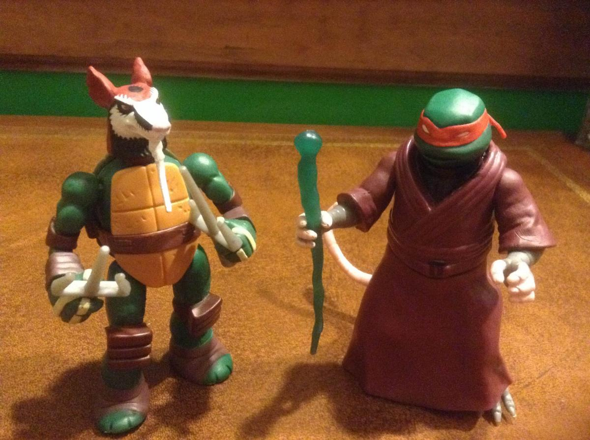 The Ninja Turtles Next Mutation Toys : Action figures guest review teenage mutant ninja turtles