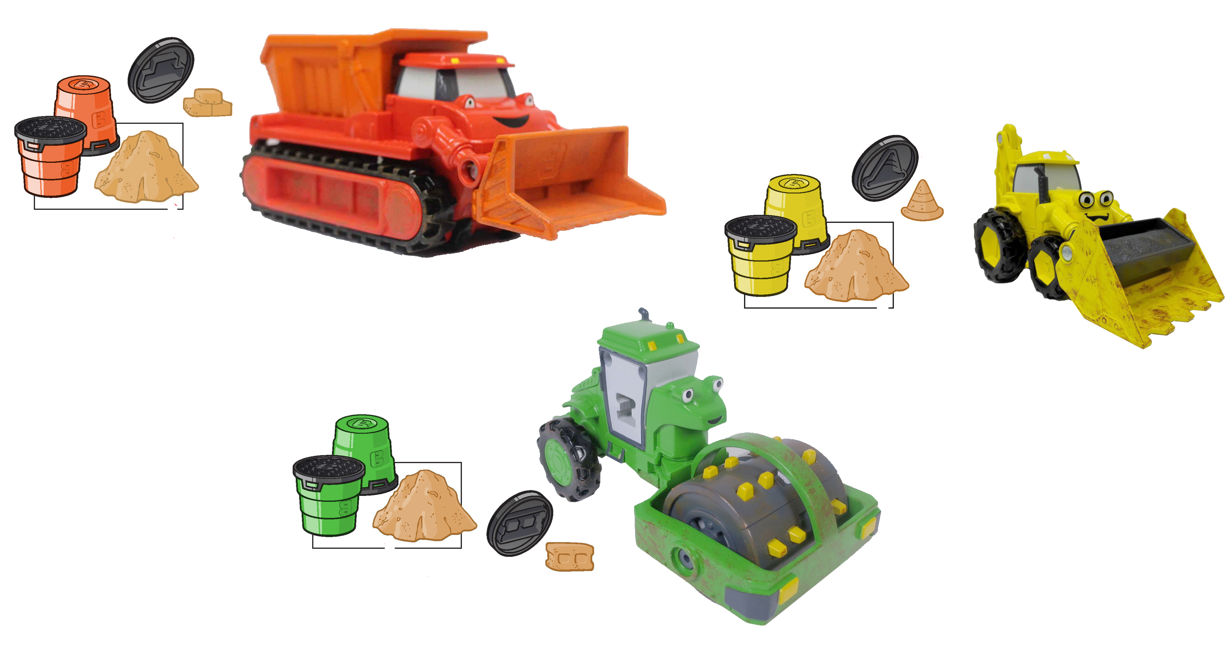 Mattel Debuts New Bob the Builder Toy Line at Toy Fair